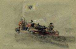 Crowded Gondola | Hercules Brabazon Brabazon | Oil Painting