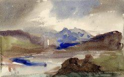 View in Switzerland | Hercules Brabazon Brabazon | Oil Painting