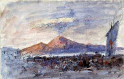 Vesuvius | Hercules Brabazon Brabazon | Oil Painting