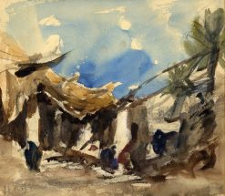 Egyptian Village | Hercules Brabazon Brabazon | Oil Painting
