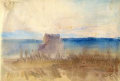 Castle with square tower | Hercules Brabazon Brabazon | Oil Painting