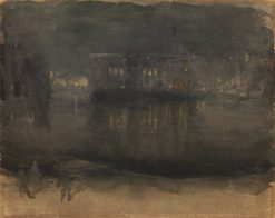 Amsterdam nocturne | James Abbott McNeill Whistler | Oil Painting