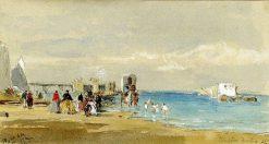 Margate Beach | James Holland | Oil Painting