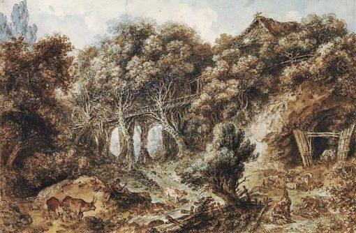 Landscape | Jean HonorE Fragonard | Oil Painting