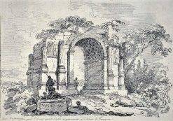 The Triumphal Arch at Saint-Rémy-de-Provence (Glanum)