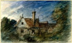A House amongst Trees | John Constable | Oil Painting