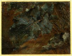 Study of Dock Leaves | John Constable | Oil Painting