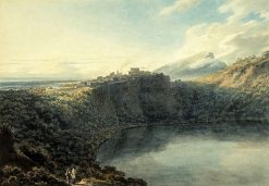 Lake Nemi | John Robert Cozens | Oil Painting