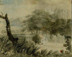 Wooded Landscape | John Robert Cozens | Oil Painting