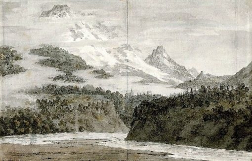 Between Sallanches and Servoz