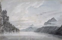 Lake of Lucerne | John Robert Cozens | Oil Painting