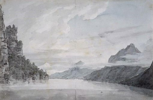 Lake of Lucerne | John Robert Cozens | Oil Painting