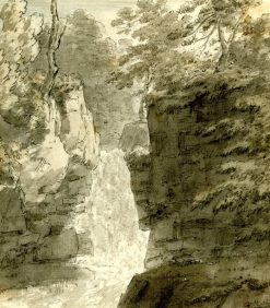 Eighth view upon the Reichenbach | John Robert Cozens | Oil Painting