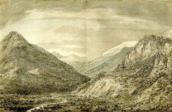 Lesser Valley of Ober-Hasli | John Robert Cozens | Oil Painting