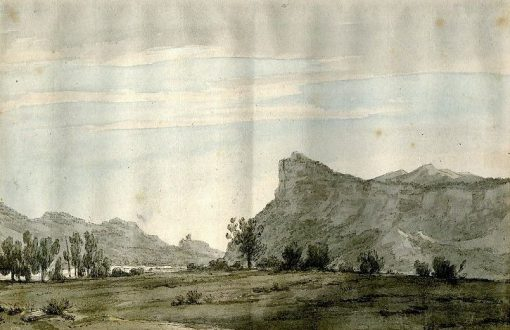 Canton of Grisons (now Grabunden) | John Robert Cozens | Oil Painting