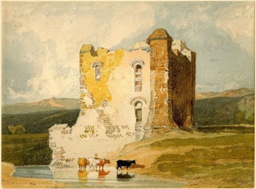 Chateau in Normandy | John Sell Cotman | Oil Painting