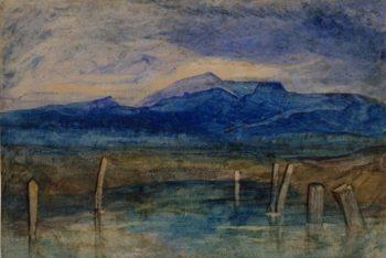 Mountain Tarn | John Sell Cotman | Oil Painting