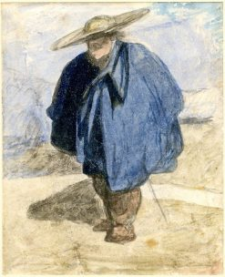 A Norman Peasant | John Sell Cotman | Oil Painting