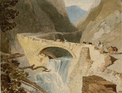 Mountain Pass in the Tyrol | John Sell Cotman | Oil Painting