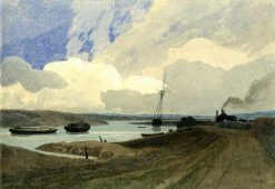 Yarmouth River | John Sell Cotman | Oil Painting