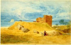 Bamborough Castle' | John Sell Cotman | Oil Painting