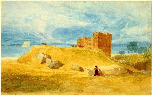 Bamborough Castle' | John Sell Cotman | Oil Painting
