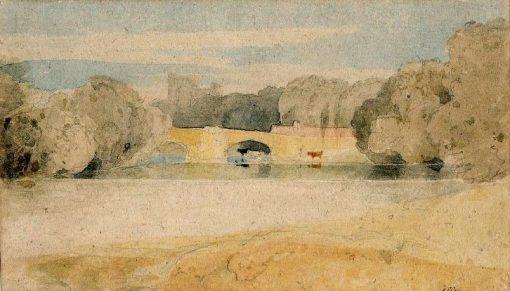 Bridge at Knaresborough | John Sell Cotman | Oil Painting