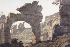 Within the Colosseum | John Warwick Smith | Oil Painting