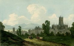 View of Worcester | John Warwick Smith | Oil Painting