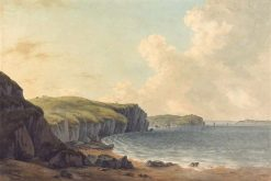View from Caldey Island