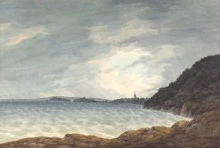 View looking South West towards Tenby | John Warwick Smith | Oil Painting
