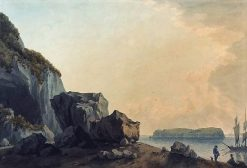 View from Caldey Island | John Warwick Smith | Oil Painting