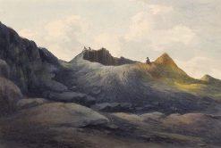 Crater of Vesuvius | John Warwick Smith | Oil Painting