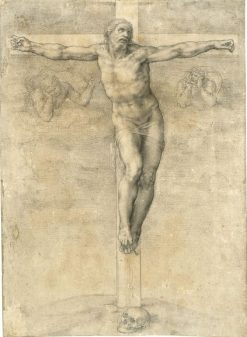 Christ Crucified | Michelangelo | Oil Painting