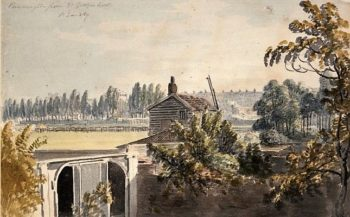 View of Paddington from the back of the Artist's House | Paul Sandby