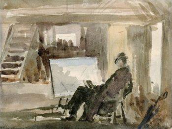 The Studio | Philip Wilson Steer | Oil Painting