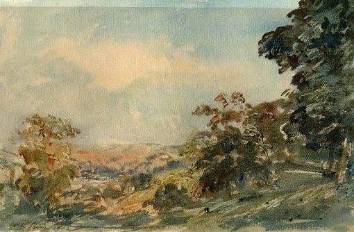 Nidderdale; | Philip Wilson Steer | Oil Painting