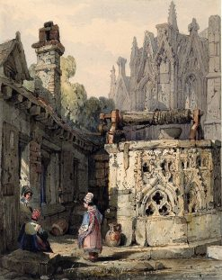 A Gothic Well | Samuel Prout | Oil Painting