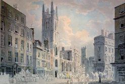 Cornhill and the Bank in 1795 | Thomas Girtin | Oil Painting