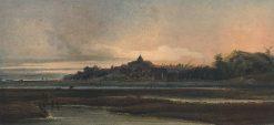 The Town of Rye   Thomas Girtin   Oil Painting