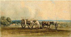 The Carter   Thomas Girtin   Oil Painting
