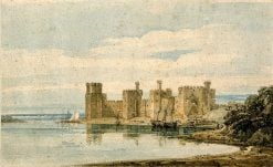 Caernarvon Castle | Thomas Girtin | Oil Painting