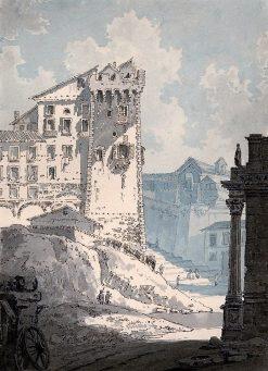 View in Rome | Thomas Girtin | Oil Painting