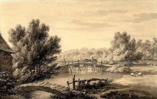 A scene at Bushey Mill
