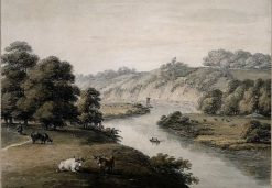 View on the Wye | Thomas Hearne | Oil Painting