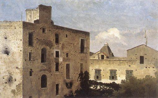 Houses in Naples | Thomas Jones | Oil Painting