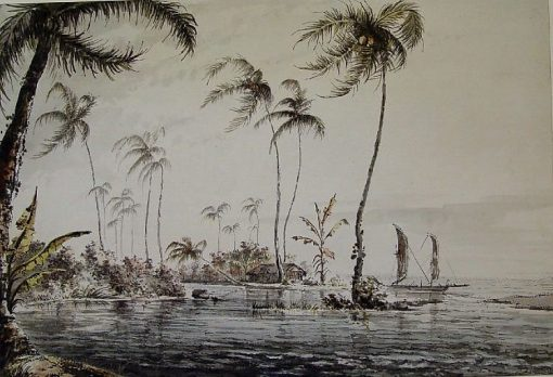 View of the Island of Otaheite   William Hodges   Oil Painting