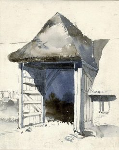 Doorway of a Shed | William James Muller | Oil Painting