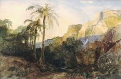 Near the Tombs of the Kings | William James Muller | Oil Painting