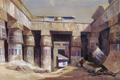 Entrance to the First Temple of Karnak | William James Muller | Oil Painting